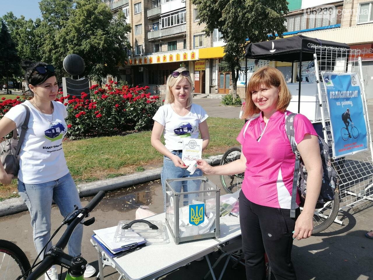 """Покровчане присоединились к акции """"Велосипедом на работу"""", фото-15"""