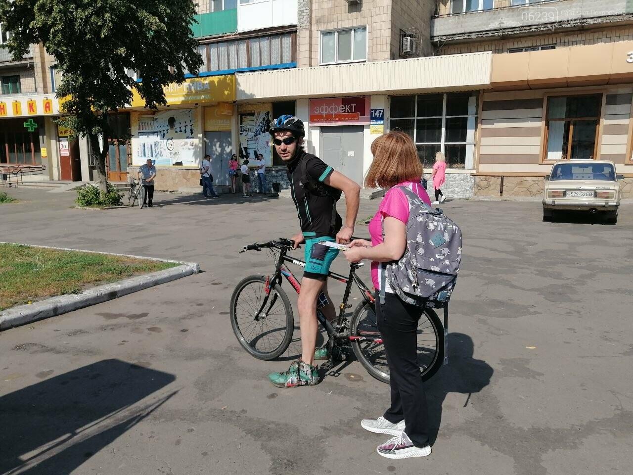 """Покровчане присоединились к акции """"Велосипедом на работу"""", фото-13"""