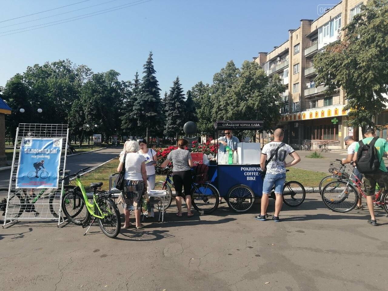 """Покровчане присоединились к акции """"Велосипедом на работу"""", фото-8"""