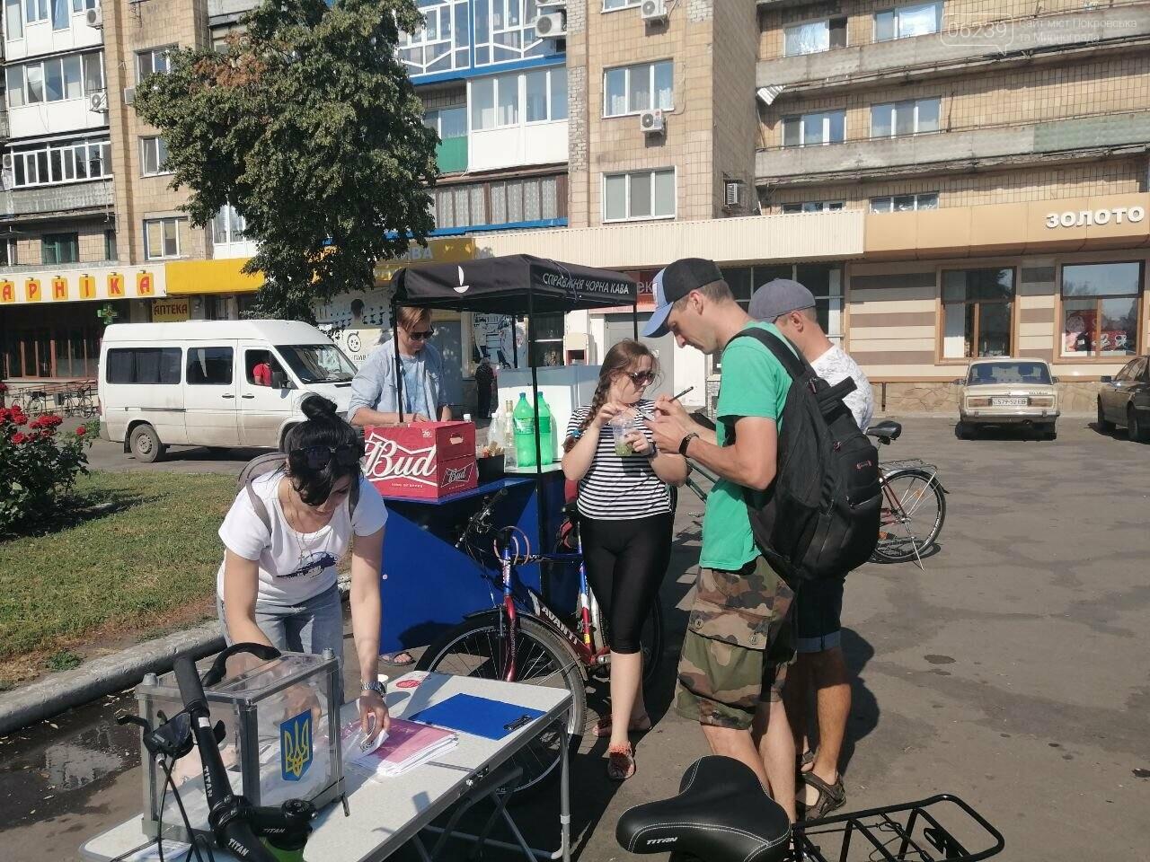 """Покровчане присоединились к акции """"Велосипедом на работу"""", фото-5"""