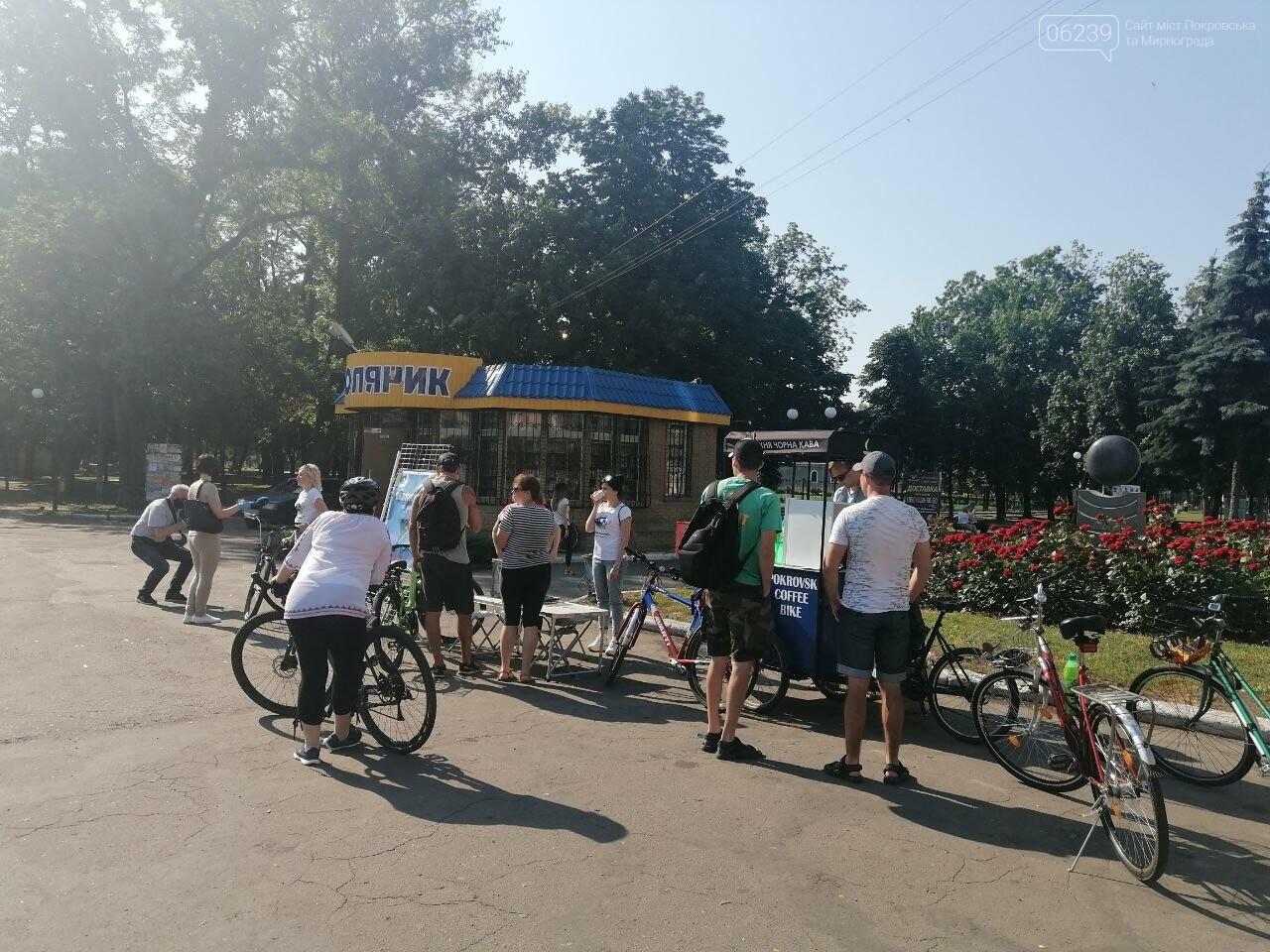 """Покровчане присоединились к акции """"Велосипедом на работу"""", фото-4"""
