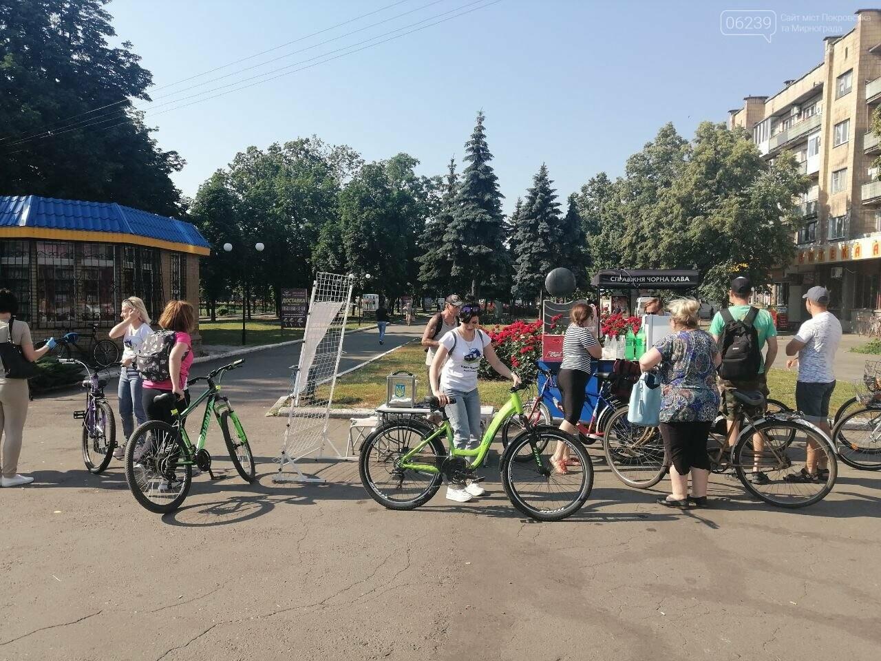 """Покровчане присоединились к акции """"Велосипедом на работу"""", фото-1"""