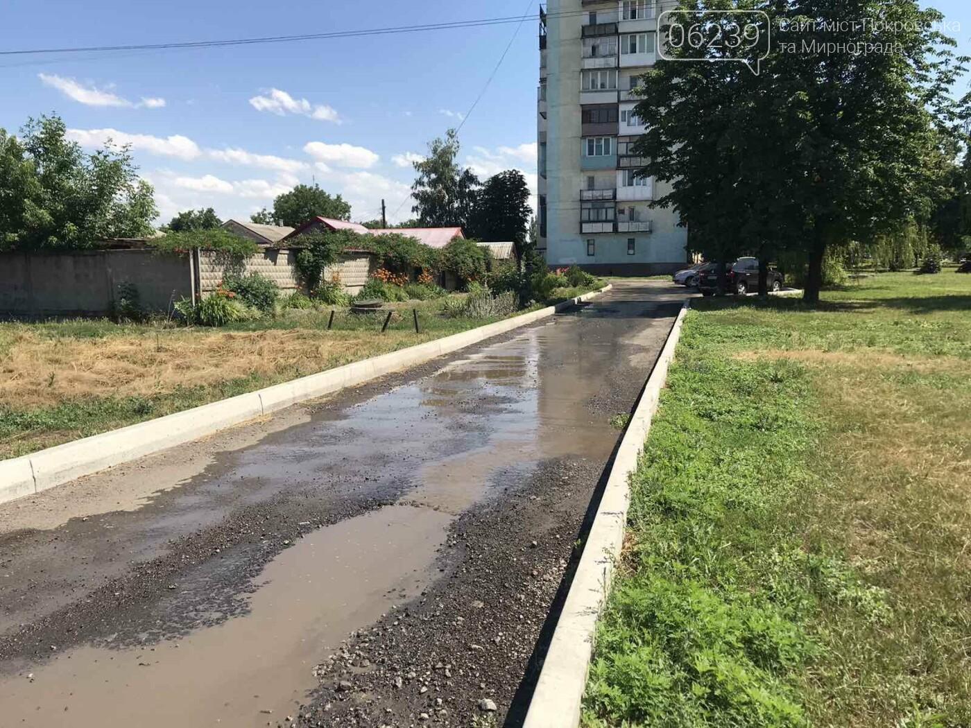 В центре Мирнограда устраняют масштабный порыв воды , фото-5