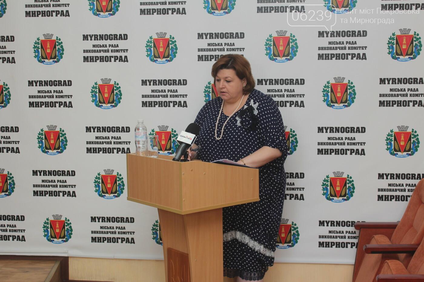 Изменения в бюджете и передача продуктов на баланс местной больницы: в Мирнограде состоялась очередная сессия горсовета, фото-5