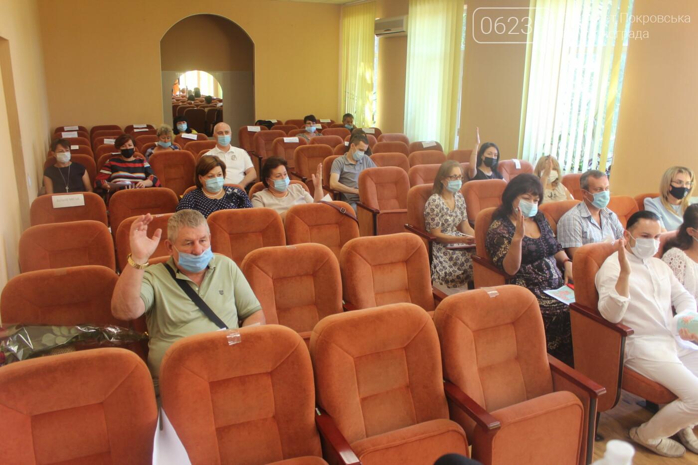 Текущие вопросы и ход выполнения нескольких городских программ: в Мирнограде прошла очередная сессия горсовета, фото-4