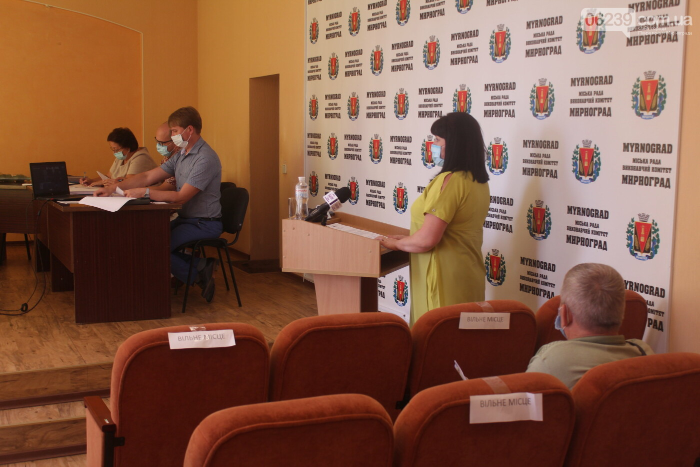 Текущие вопросы и ход выполнения нескольких городских программ: в Мирнограде прошла очередная сессия горсовета, фото-10