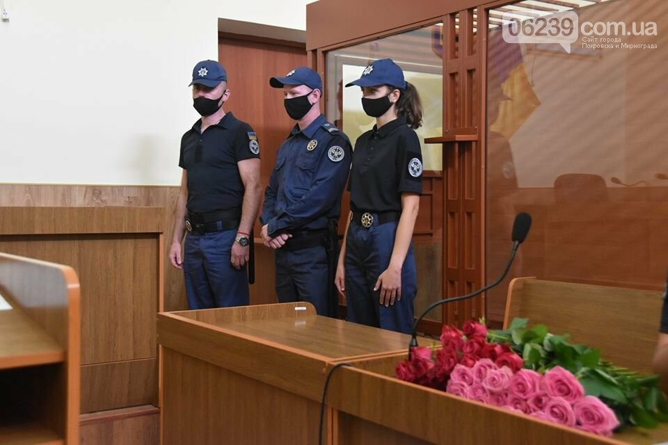 У Покровську суд перейшов під охорону Територіального управління Служби судової охорони , фото-6