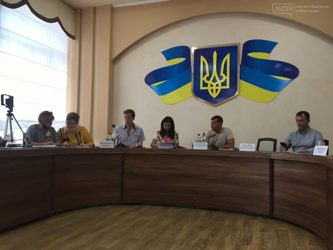 В Покровске началась очередная сессия городского совета, фото-1