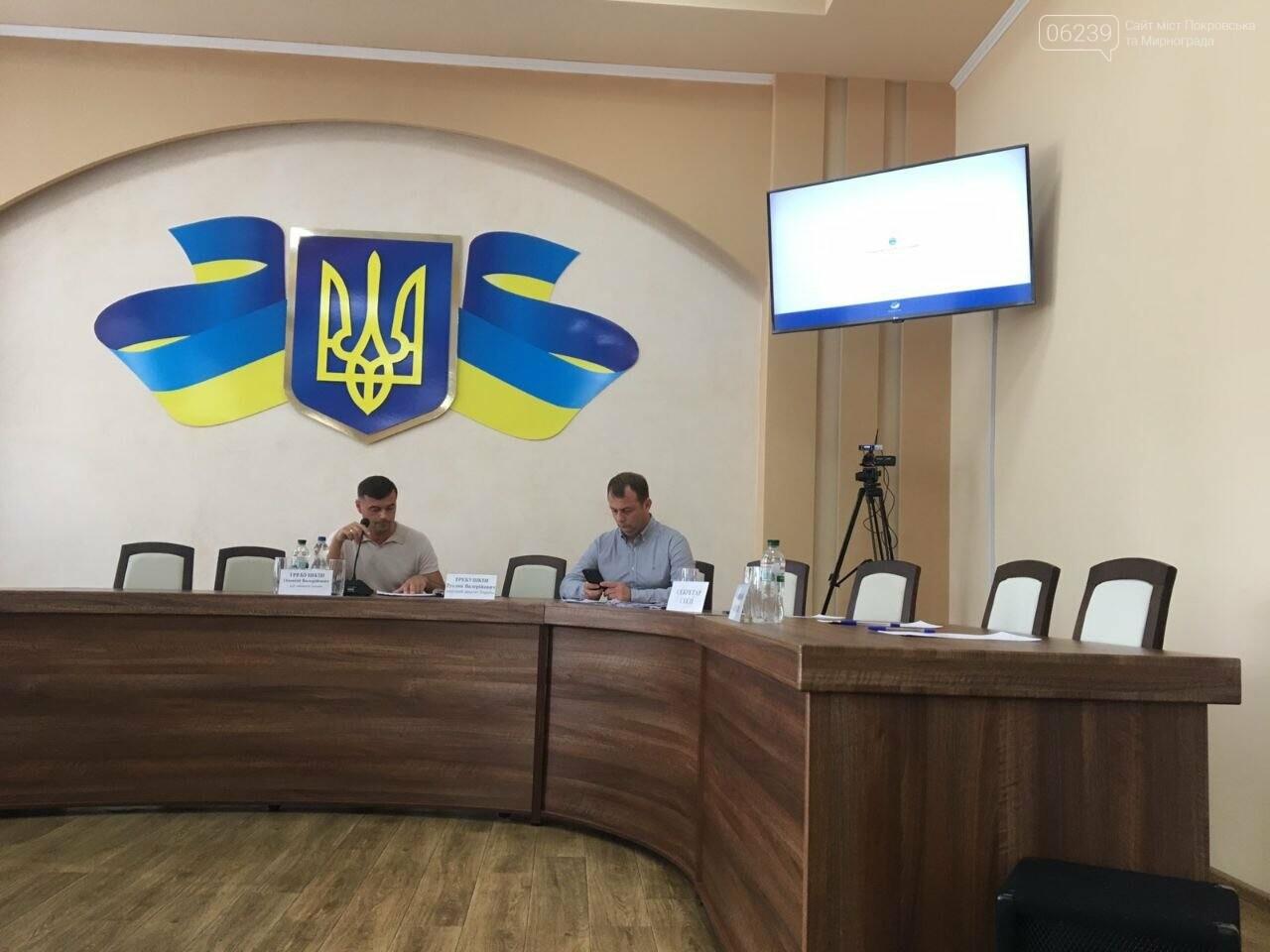 В Покровске началась очередная сессия городского совета, фото-3