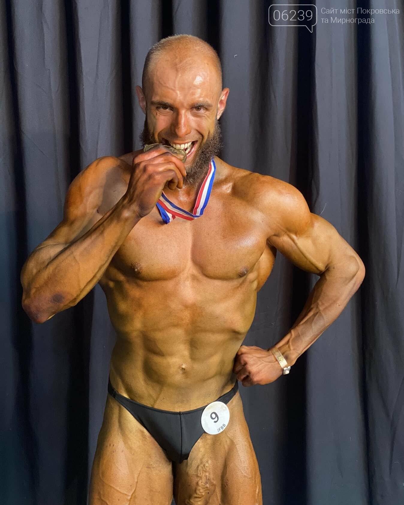 Уроженец Покровска Максим Говберг завоевал золотую медаль на чемпионате Европы по бодибилдингу, фото-6