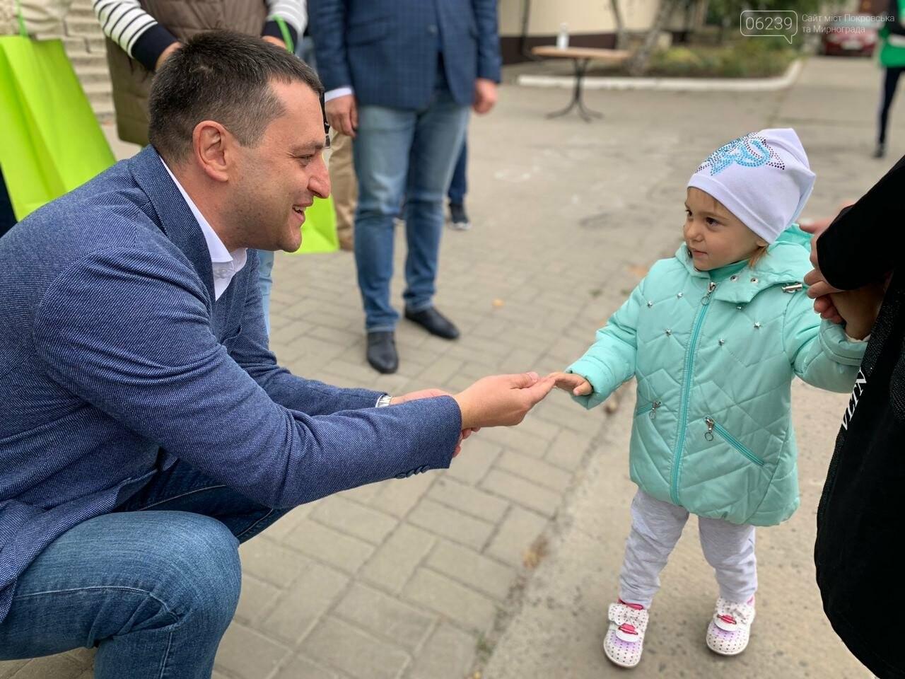 Команда Президента в Покровске презентовала проект будущего перинатального центра, фото-8