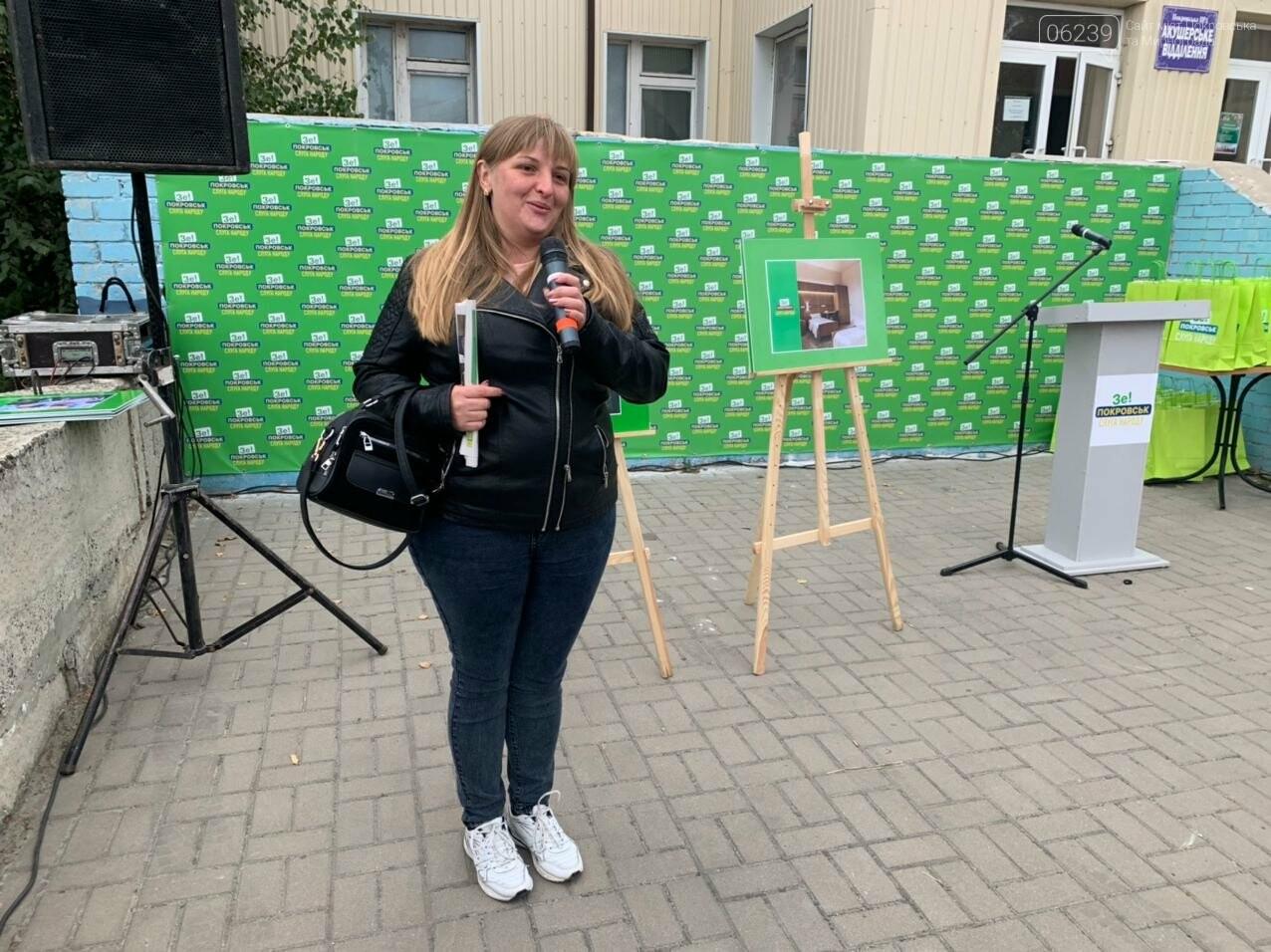Команда Президента в Покровске презентовала проект будущего перинатального центра, фото-5