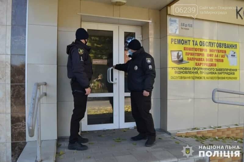 """У Покровську поліцейські перевіряють дотримання """"карантину вихідного дня"""", фото-2"""