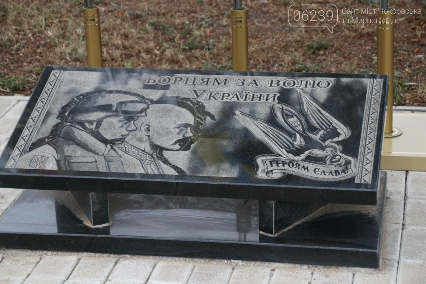В Мирнограде отметили День Достоинства и Свободы, фото-2