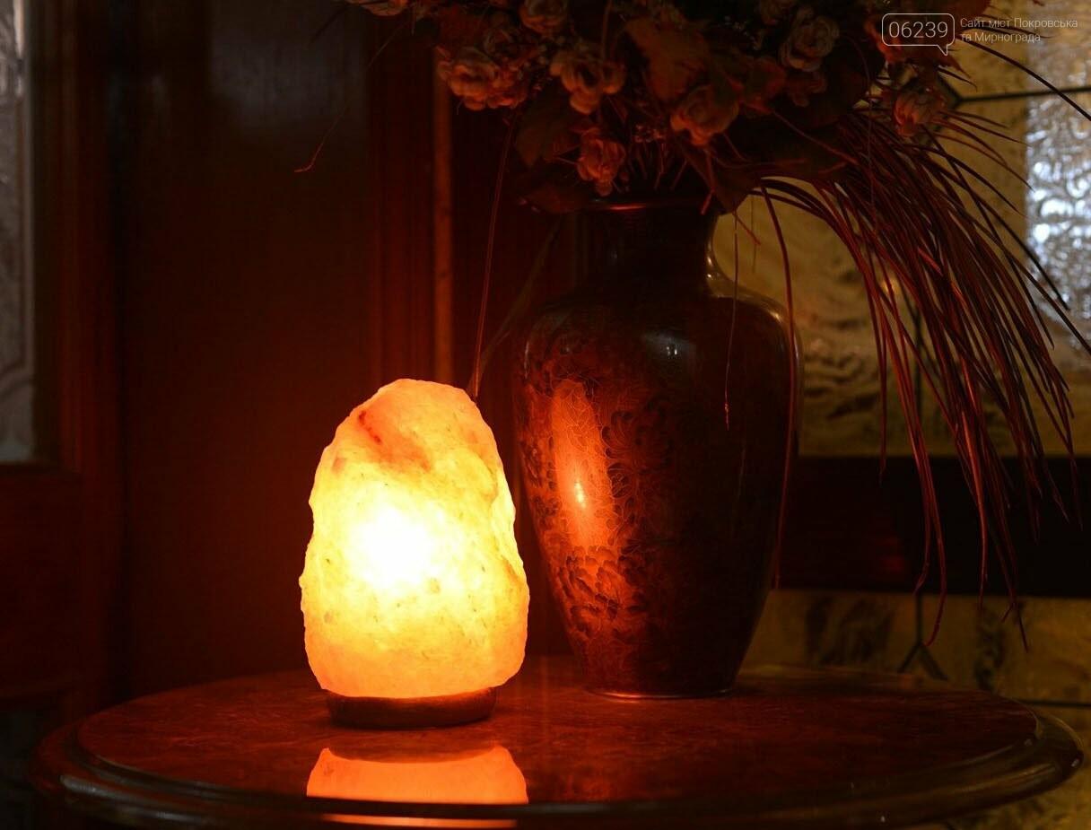 Соляная лампа в комнате