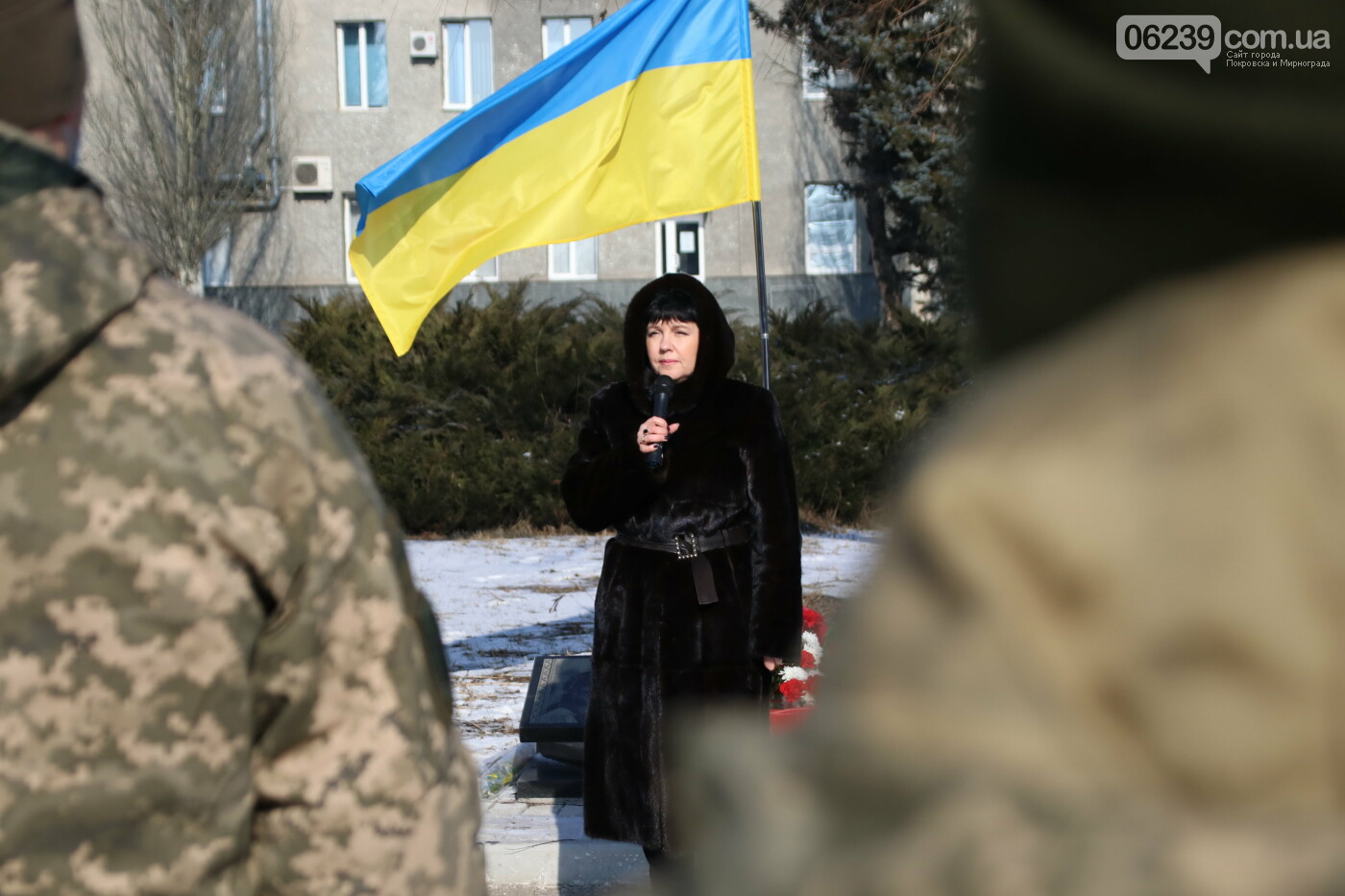 Жители Мирнограда почтили память Героев Небесной Сотни - детальный фотоотчёт , фото-4