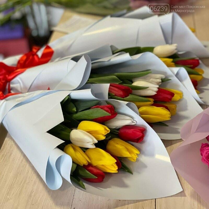 Роскошные тюльпаны, шикарные розы и нежные ирисы - салон цветов FLORIKA готов к 8 Марта, фото-1