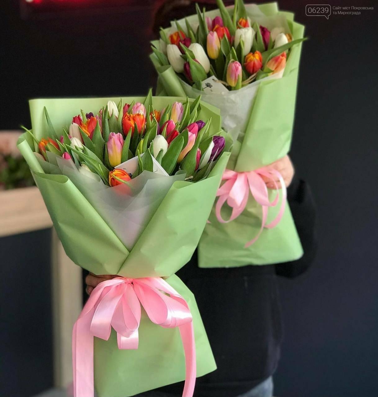 Роскошные тюльпаны, шикарные розы и нежные ирисы - салон цветов FLORIKA готов к 8 Марта, фото-2