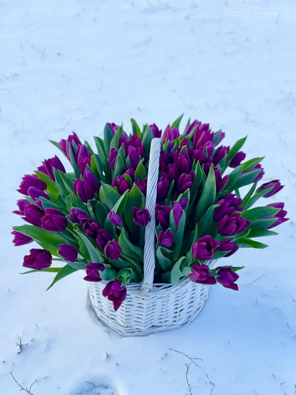 Роскошные тюльпаны, шикарные розы и нежные ирисы - салон цветов FLORIKA готов к 8 Марта, фото-11