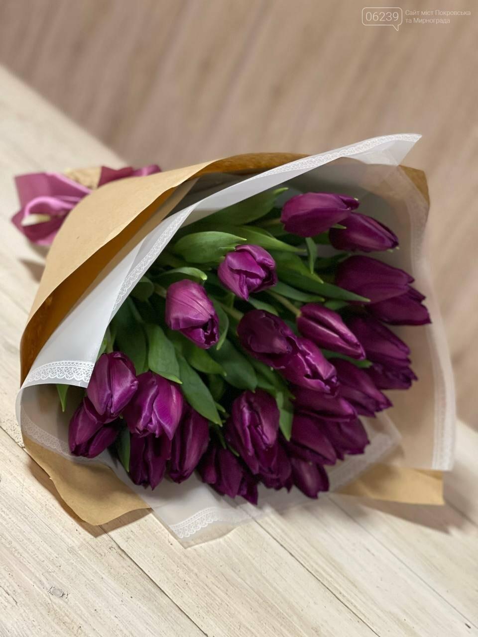 Роскошные тюльпаны, шикарные розы и нежные ирисы - салон цветов FLORIKA готов к 8 Марта, фото-3