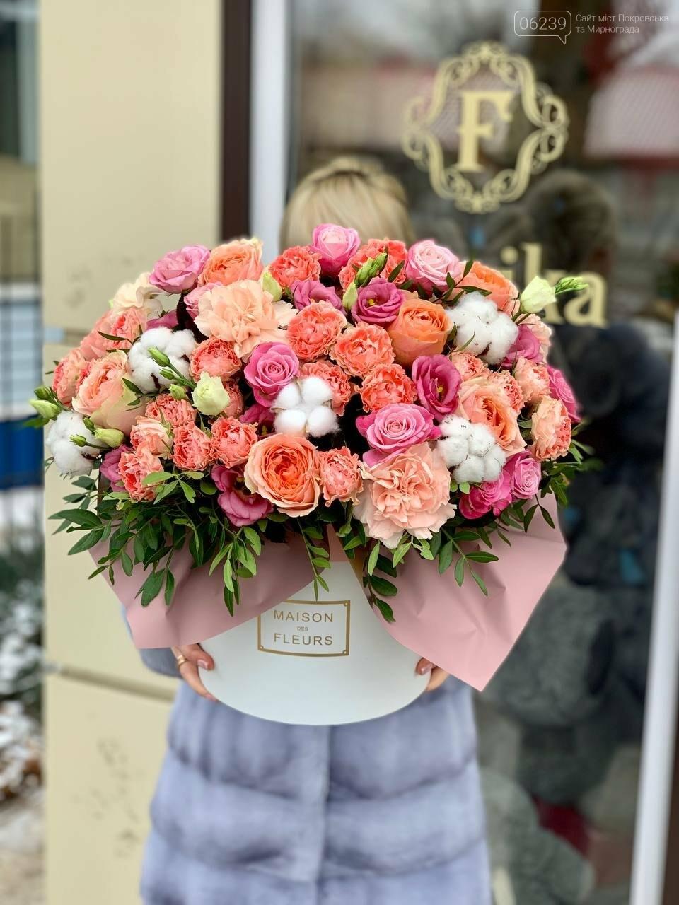 Роскошные тюльпаны, шикарные розы и нежные ирисы - салон цветов FLORIKA готов к 8 Марта, фото-13