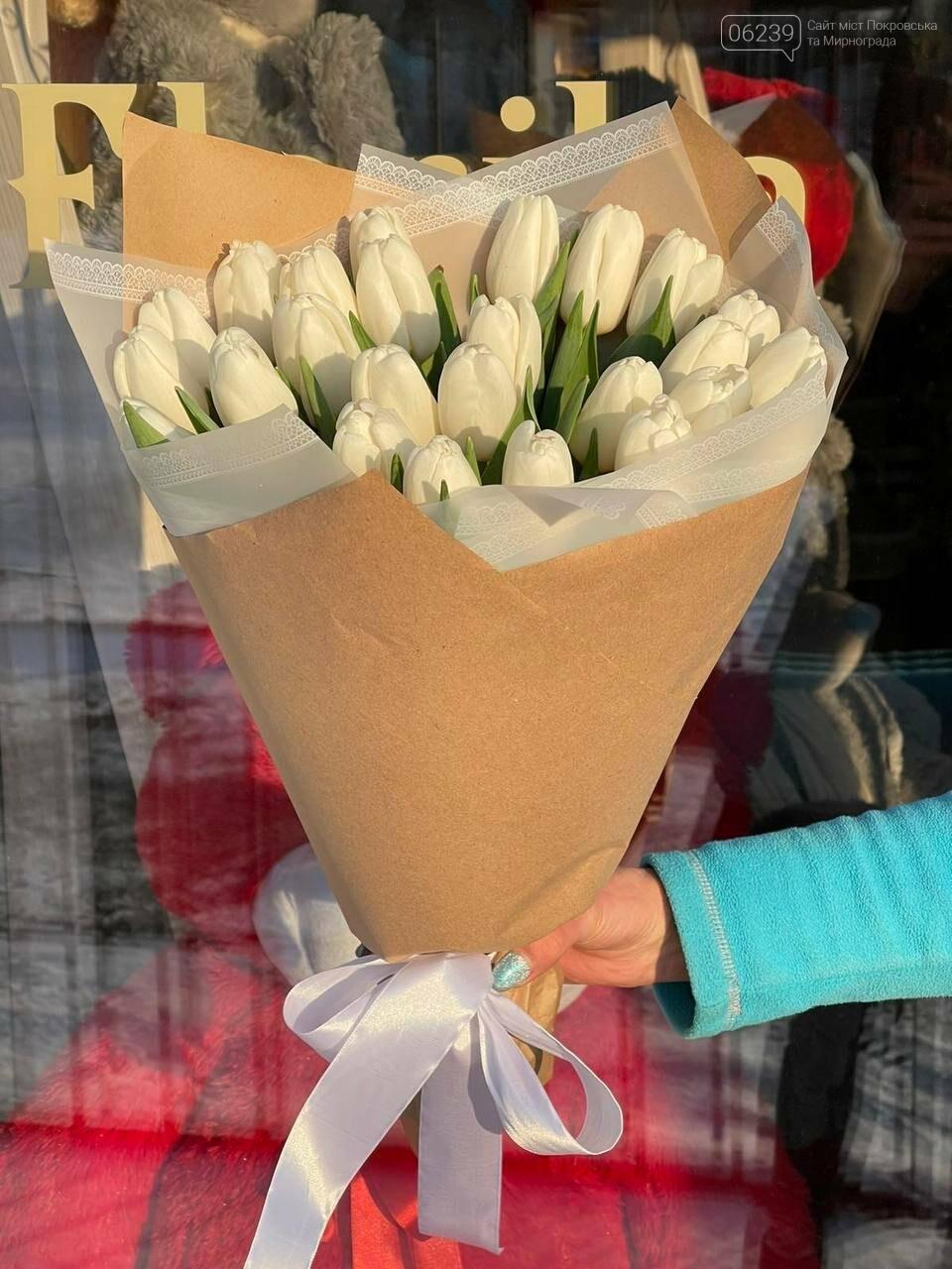Роскошные тюльпаны, шикарные розы и нежные ирисы - салон цветов FLORIKA готов к 8 Марта, фото-14