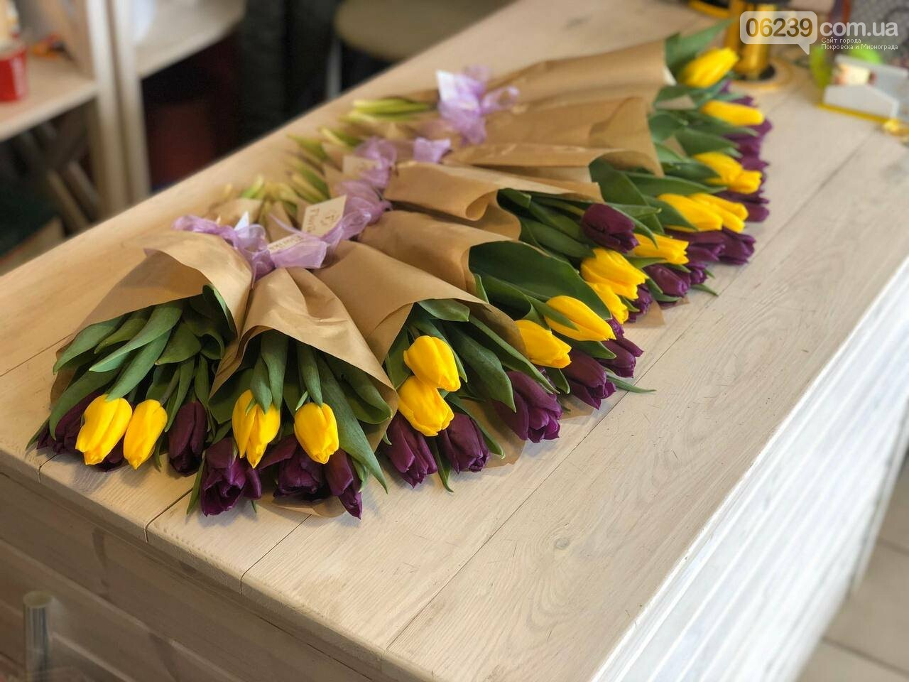 Роскошные тюльпаны, шикарные розы и нежные ирисы - салон цветов FLORIKA готов к 8 Марта, фото-6