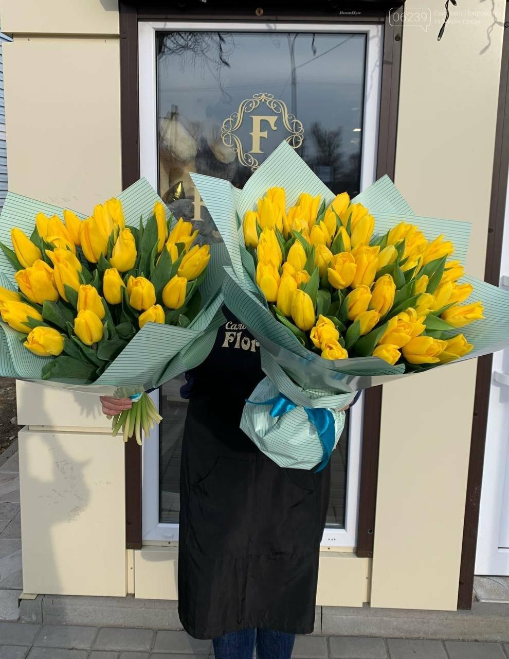 Роскошные тюльпаны, шикарные розы и нежные ирисы - салон цветов FLORIKA готов к 8 Марта, фото-22