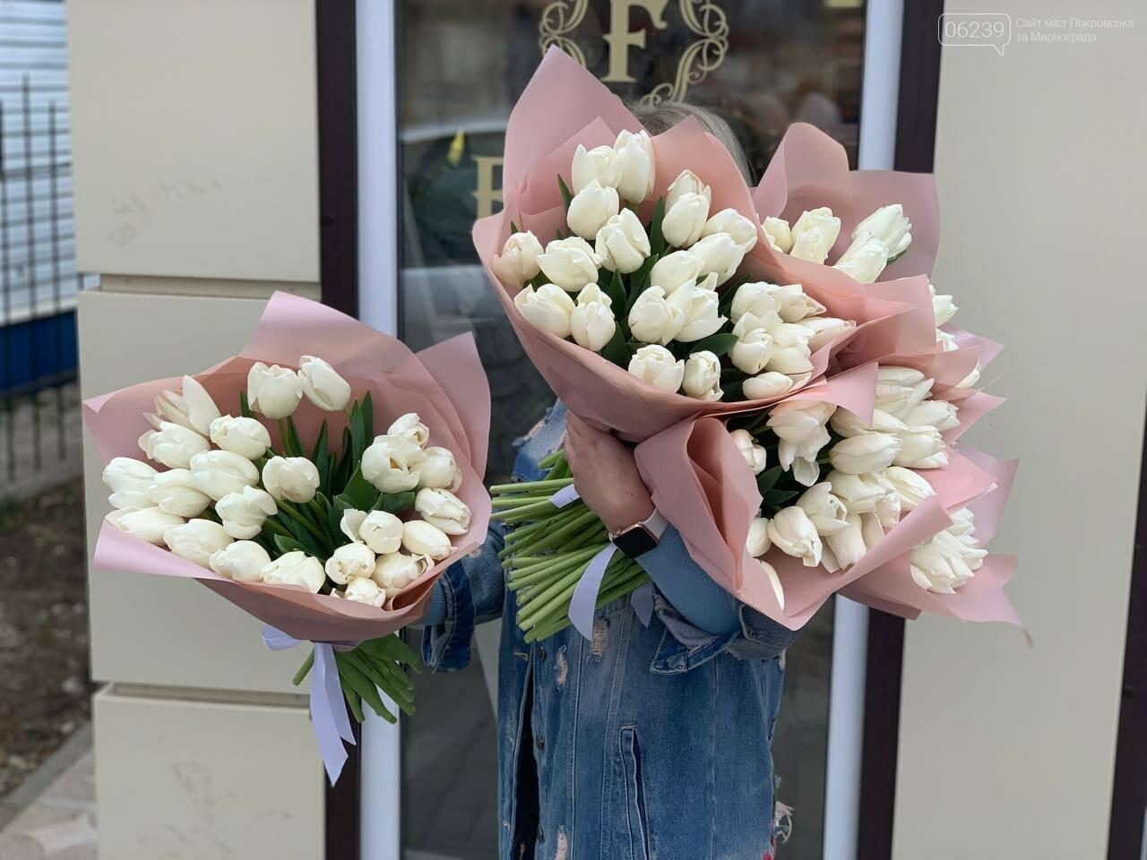 Роскошные тюльпаны, шикарные розы и нежные ирисы - салон цветов FLORIKA готов к 8 Марта, фото-24