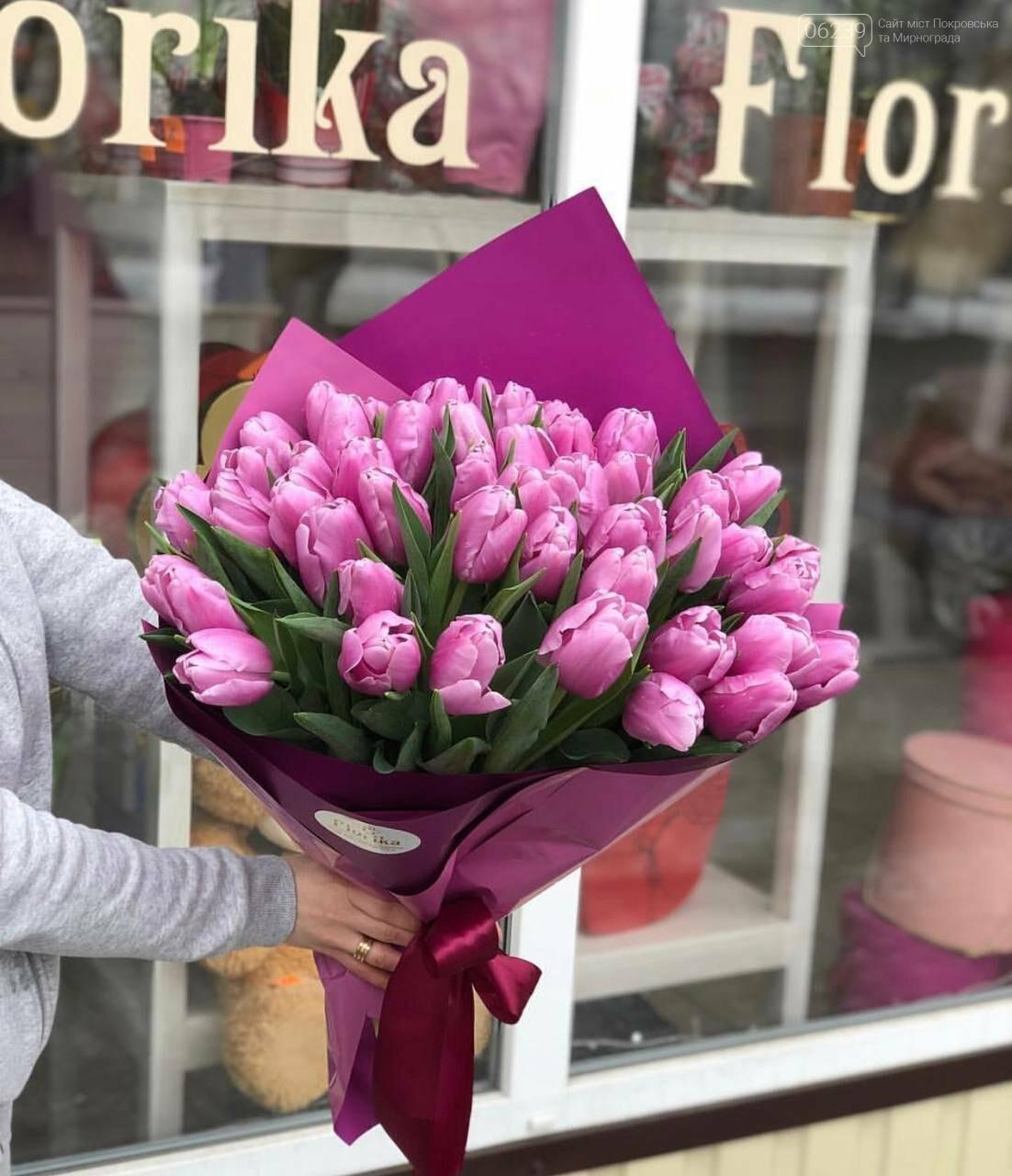 Роскошные тюльпаны, шикарные розы и нежные ирисы - салон цветов FLORIKA готов к 8 Марта, фото-25