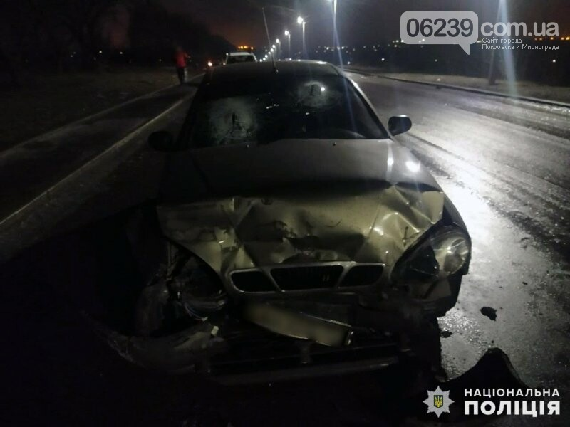 В Мирнограде водитель навеселе совершил столкновение с попутным автомобилем (ФОТО), фото-2