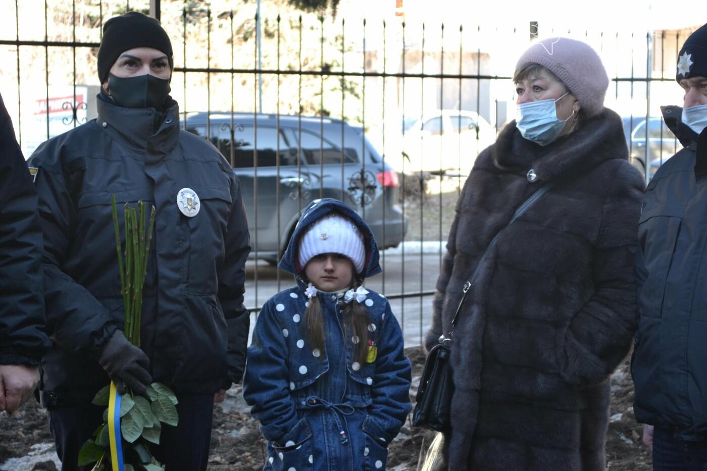 В Покровске почтили память погибшего от рук террористов спецназовца Виталия Мандрыка, фото-1