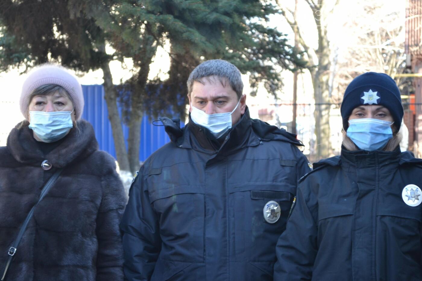 В Покровске почтили память погибшего от рук террористов спецназовца Виталия Мандрыка, фото-7