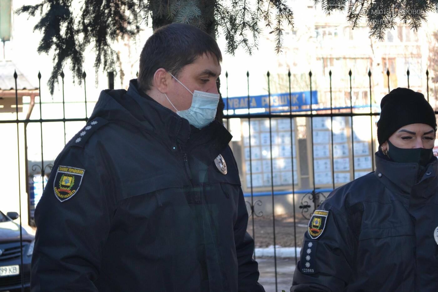 В Покровске почтили память погибшего от рук террористов спецназовца Виталия Мандрыка, фото-8