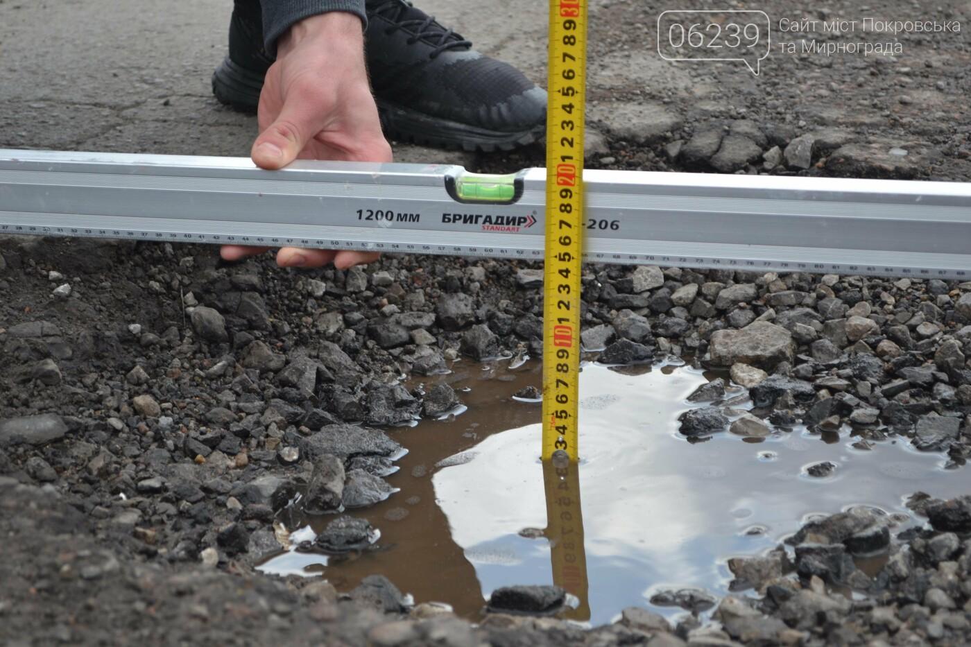 Попал в яму — сам виноват: копы составили протокол на водителя из Покровска, который, въехав в яму, повредил авто, фото-20