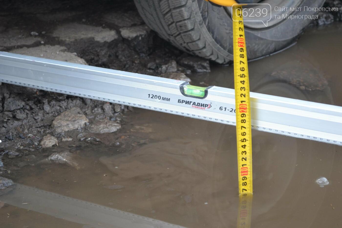 Попал в яму — сам виноват: копы составили протокол на водителя из Покровска, который, въехав в яму, повредил авто, фото-23