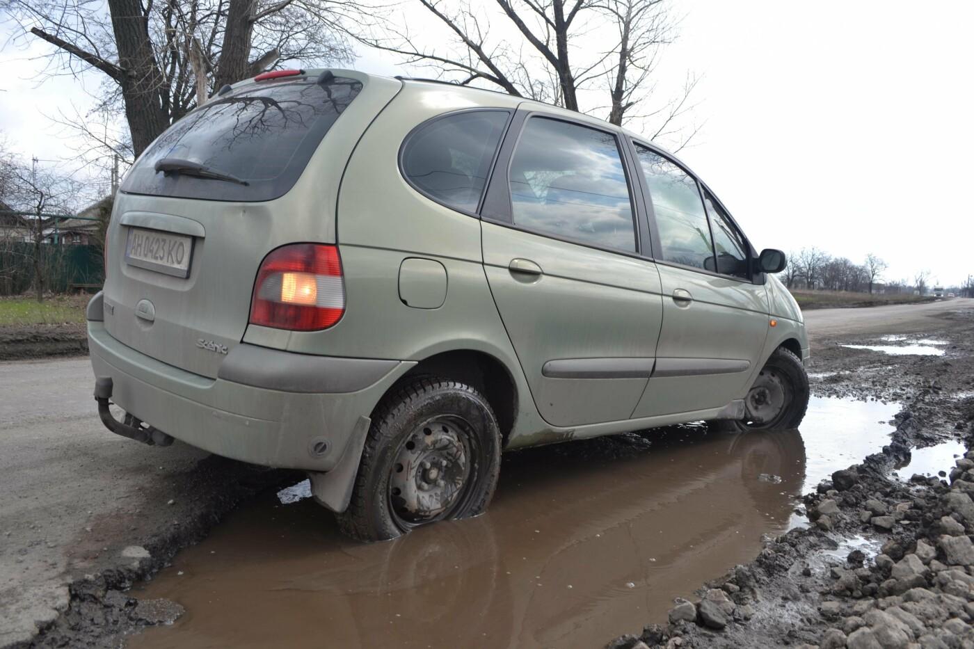 Попал в яму — сам виноват: копы составили протокол на водителя из Покровска, который, въехав в яму, повредил авто, фото-26