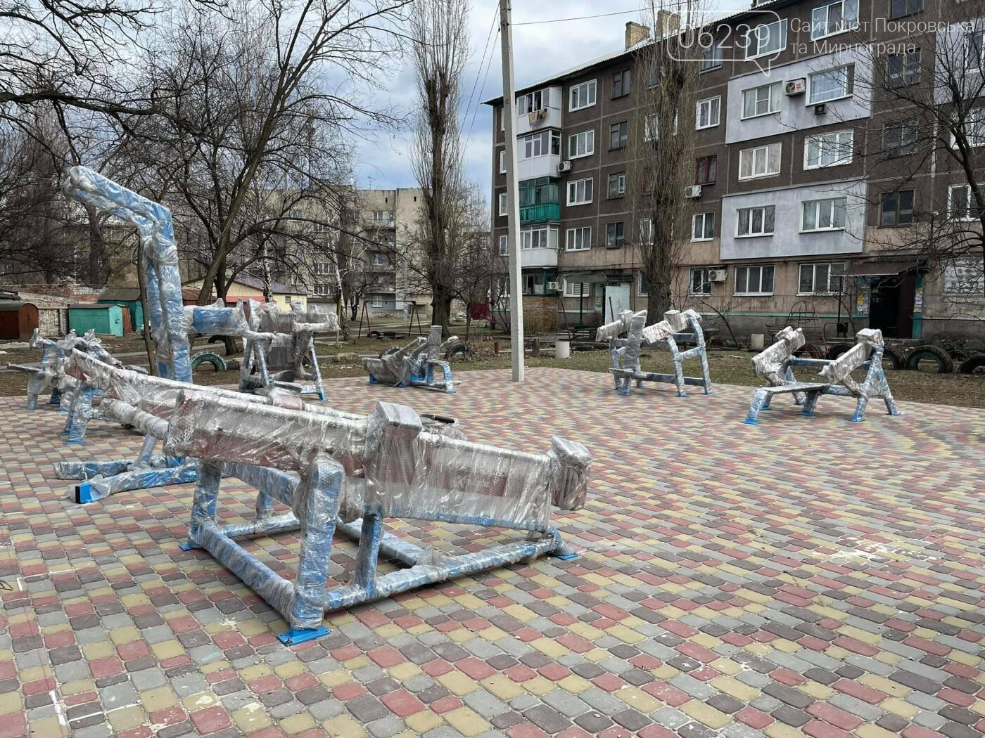 Микола Шабельник: «Невдовзі у Покровську з'явиться спортзал просто неба», фото-4