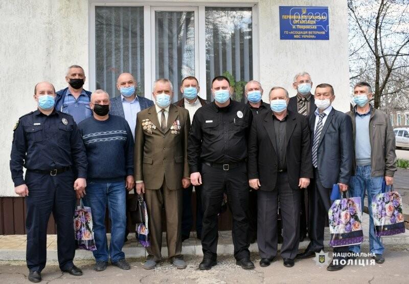 В поліції Покровська вшанували правоохоронців-ліквідаторів наслідків Чорнобильської АЕС, фото-1
