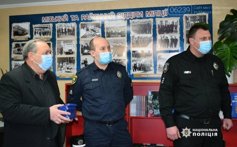 В поліції Покровська вшанували правоохоронців-ліквідаторів наслідків Чорнобильської АЕС, фото-6