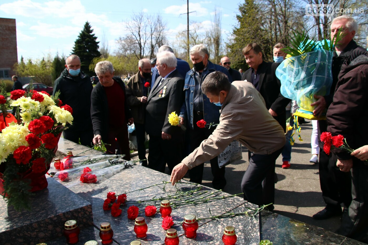 35-я годовщина трагедии: в Мирнограде почтили память ликвидаторов аварии на ЧАЭС, фото-11