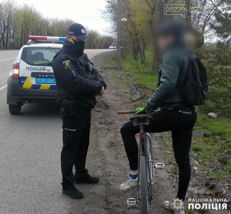 Поліцейські Мирнограда проводять роз'яснювальну роботу серед велосипедистів, фото-2