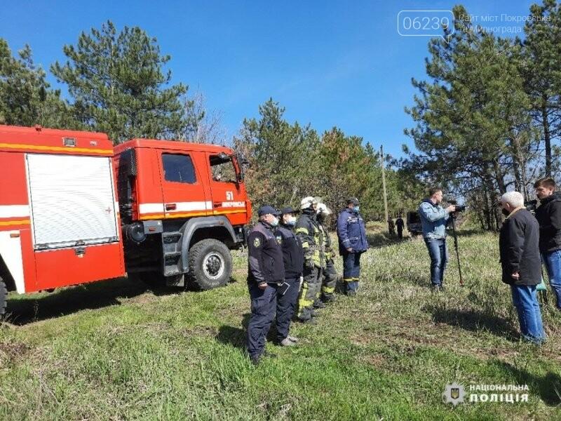 Покровській ОТГ рятувальники та поліцейські відпрацювали спільні дії у разі виникнення надзвичайної ситуації, фото-7