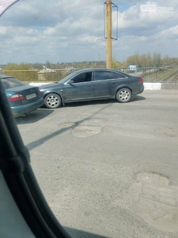 Очередное ДТП произошло на путепроводе у станции «Новая», фото-1