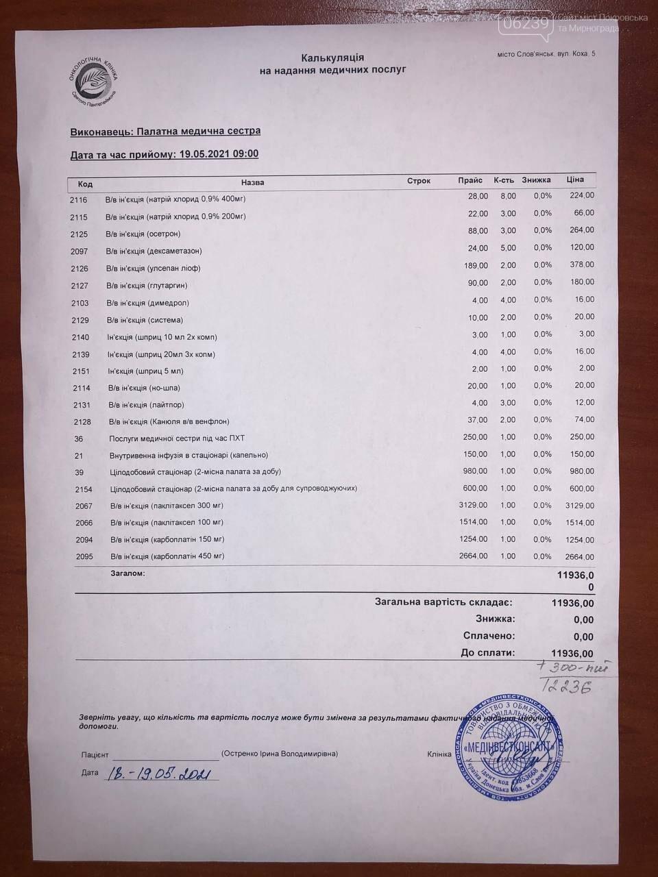 Необходима помощь учительнице из Покровска Ирине Остренко: открыт сбор средств на химиотерапию, фото-4