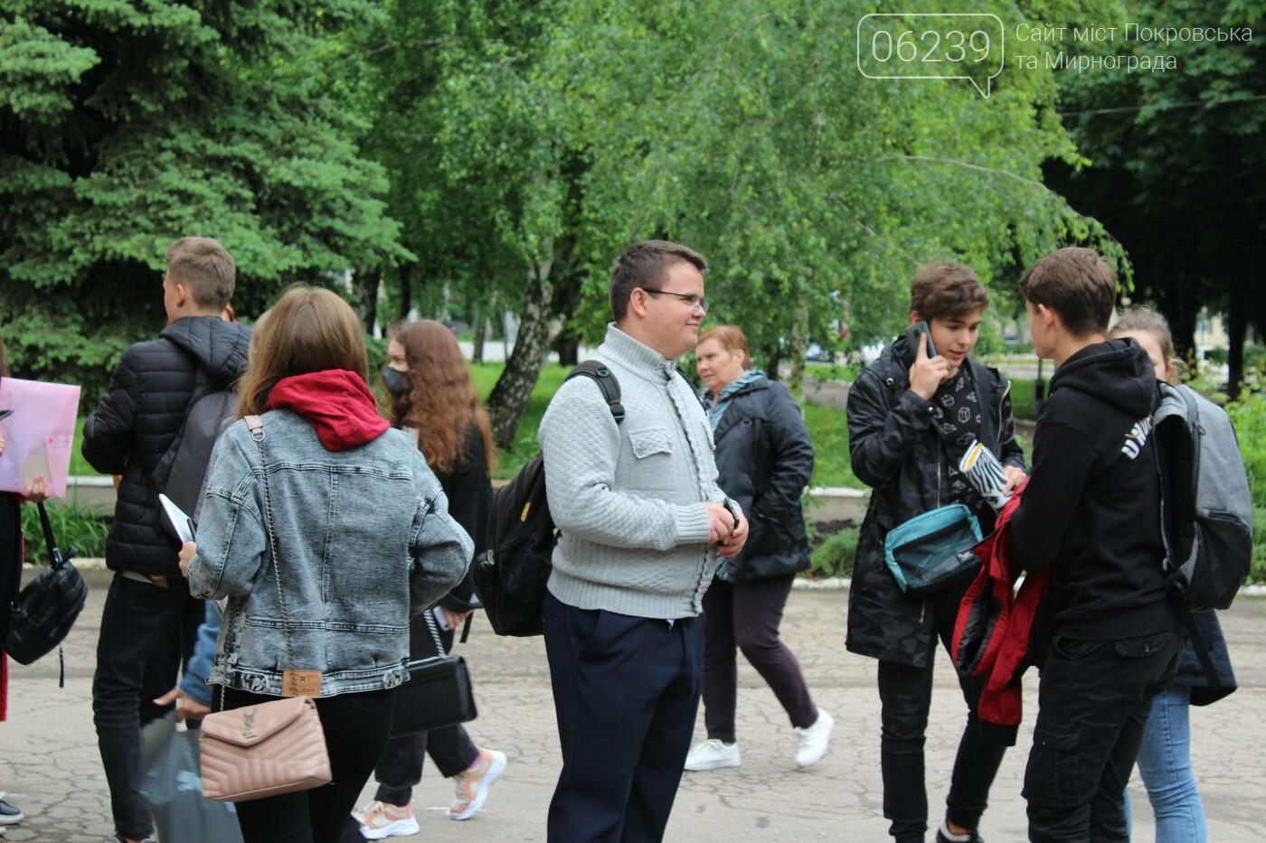 В Покровске сдавали ВНО по истории Украины, фото-4