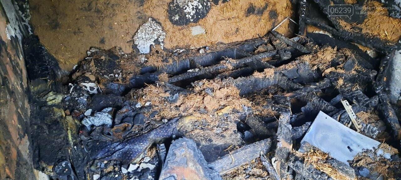 В Покровске из-за пожара в летней кухне погибла женщина, фото-3