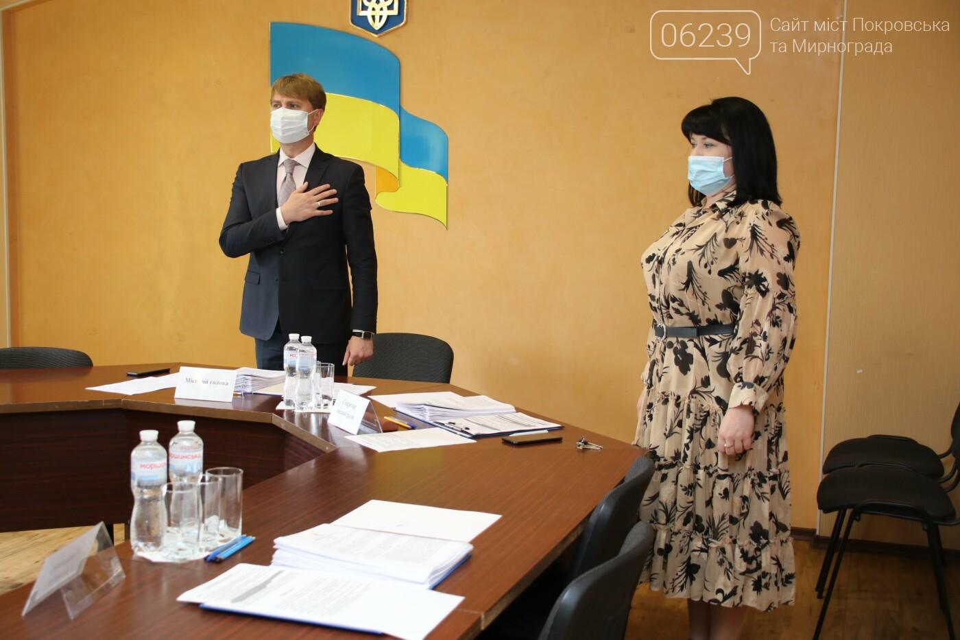 Вопросы благоустройства города и местного бюджета: в Мирнограде состоялась сессия городского совета, фото-4