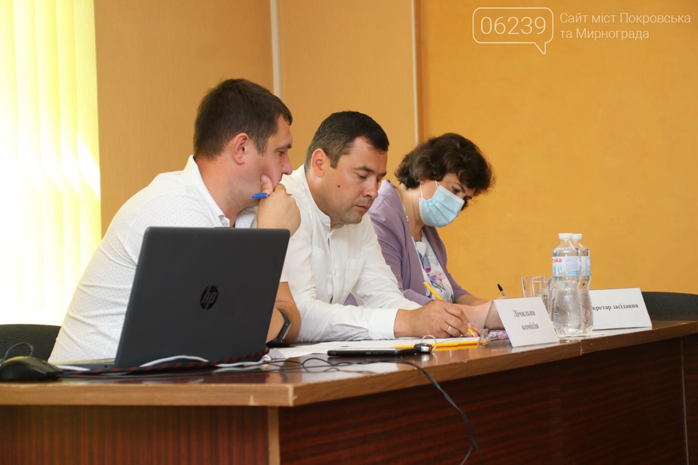 Вопросы благоустройства города и местного бюджета: в Мирнограде состоялась сессия городского совета, фото-7