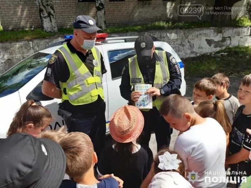 Безпека на дорозі: поліцейські нагадують школярам Правила дорожнього руху, фото-2